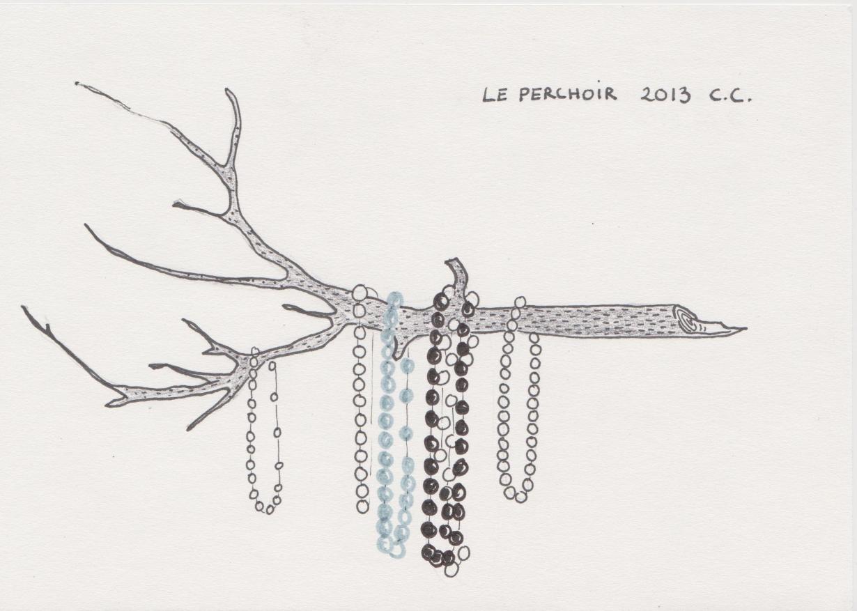 Croquis, La coquette Branche, projet 2013