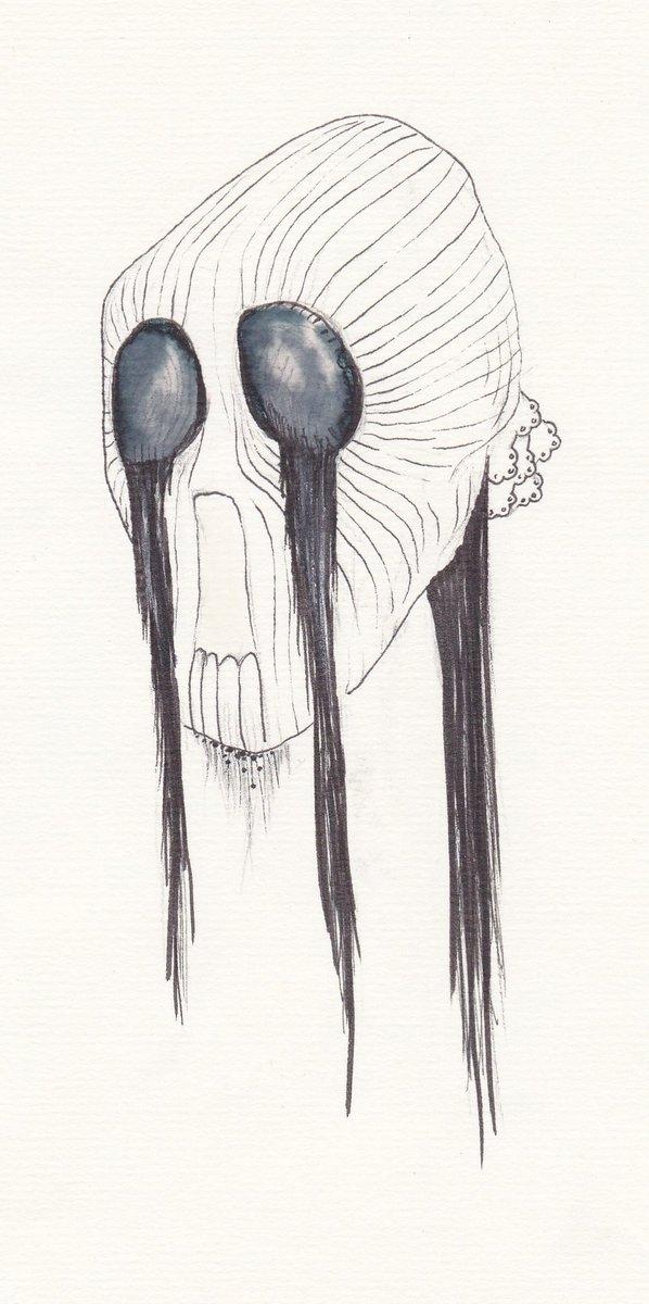 A mes fantômes, 2010, feutre sur papier