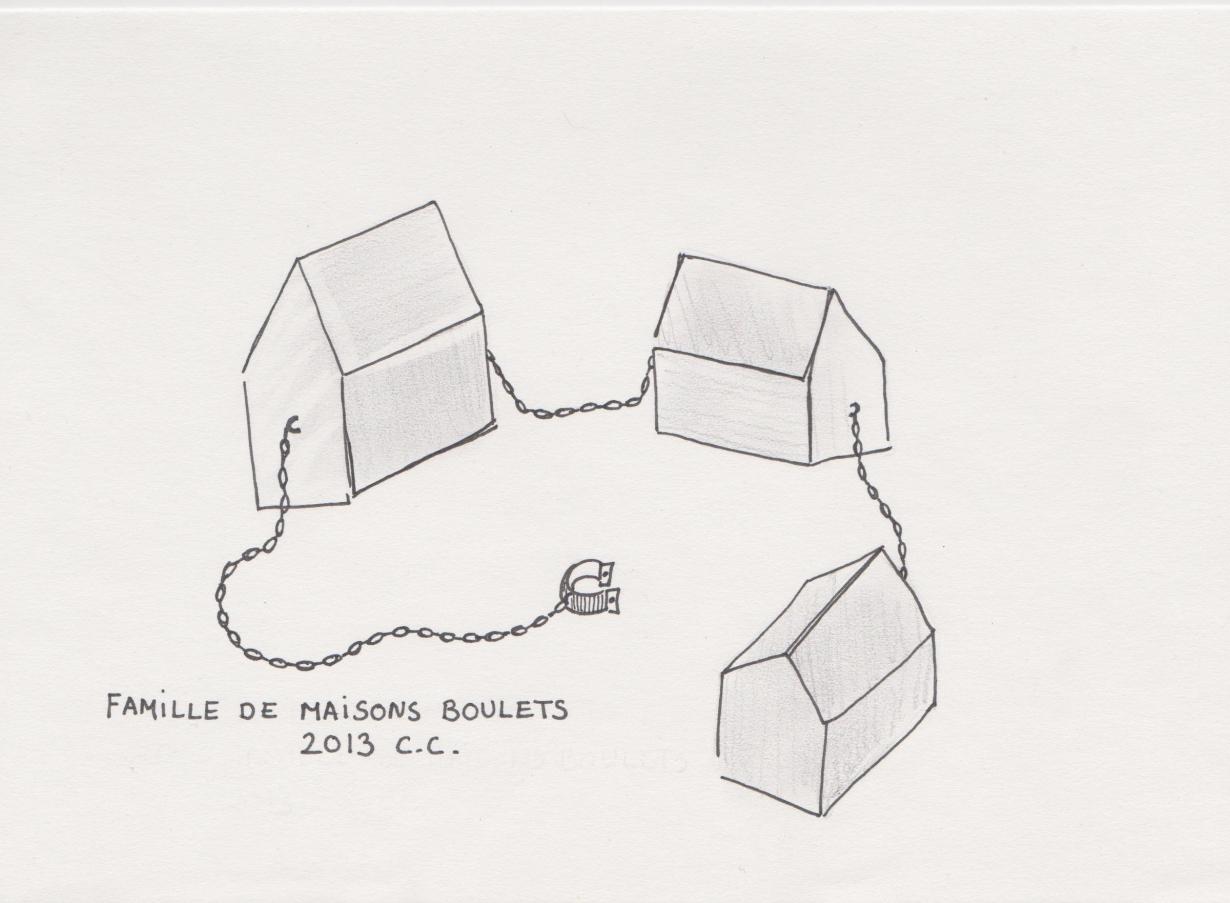 Croquis, Famille maison boulet, projet 2013