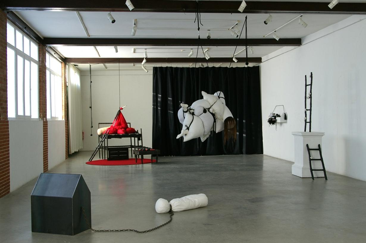 Exposition La douceur des Utopies, résidence 2013 Dompierre