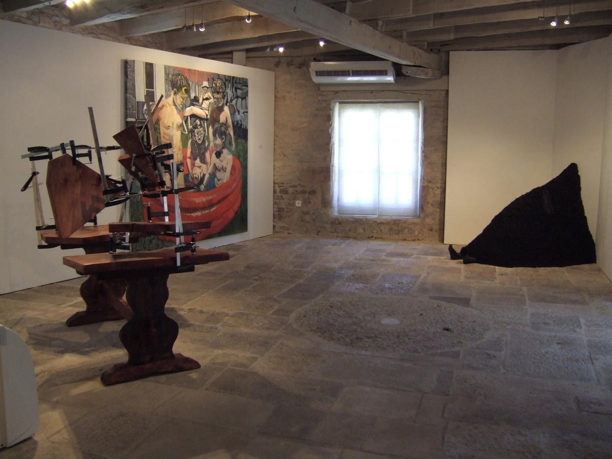 Prix de la jeune création, lauréate du prix du public, St Remy, 2012